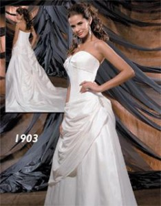 Color: Ivory/Silver Size: 12 Price: $1,090 (originally) Discount price: $545.00